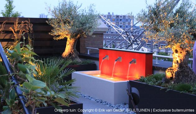 Tuinverlichting volop mogelijkheden om sfeer te maken for Erik van gelder stijltuinen