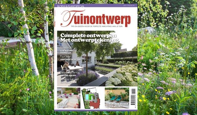Special tuinontwerp voor liefhebbers van eigentijdse tuinen tuinseizoen - Hoe aangelegde tuin ...